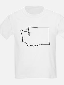 Washington Outline T-Shirt