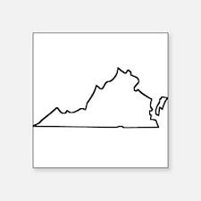 Virginia Outline Sticker
