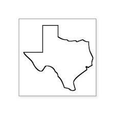 Texas Outline Sticker