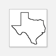 Texas Outline Sticker
