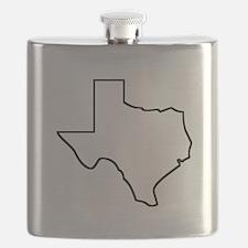 Texas Outline Flask