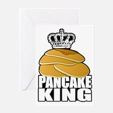 Pancake King Greeting Card