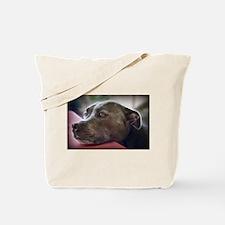 Loving Pitbull Eyes Tote Bag