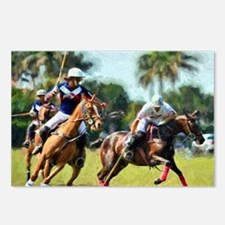 Polo Players and Ponies Postcards (Package of 8)