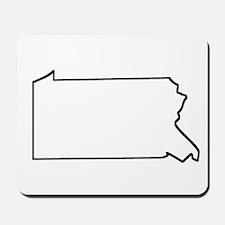 Pennsylvania Outline Mousepad