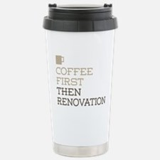 Coffee Then Renovation Stainless Steel Travel Mug