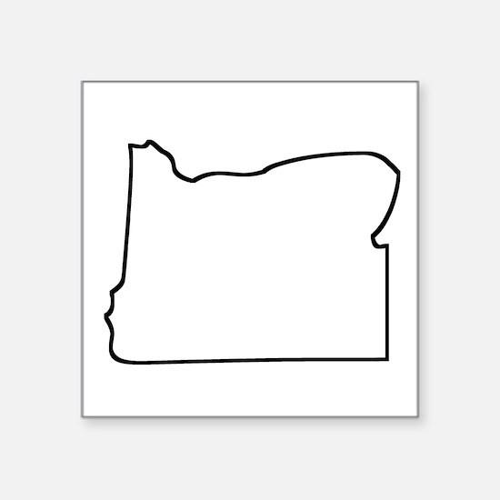 Oregon Outline Sticker