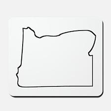Oregon Outline Mousepad