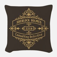 Consulting Detective Woven Throw Pillow