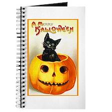 Jackolantern Black Cat Journal