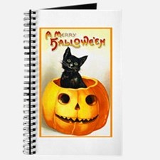 Jackolantern Black Cat Journal