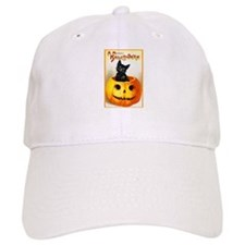 Jackolantern Black Cat Baseball Cap