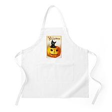 Jackolantern Black Cat BBQ Apron