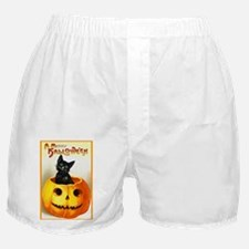 Jackolantern Black Cat Boxer Shorts