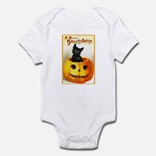 Jackolantern Black Cat Onesie