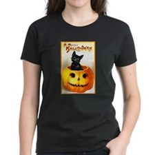 Jackolantern Black Cat (Front) Tee