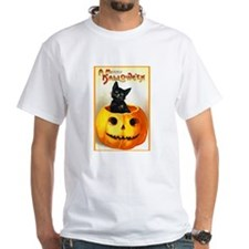 Jackolantern Black Cat (Front) Shirt