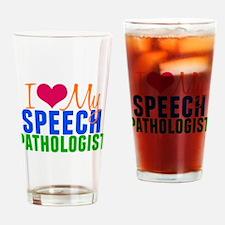 SLP Love Drinking Glass