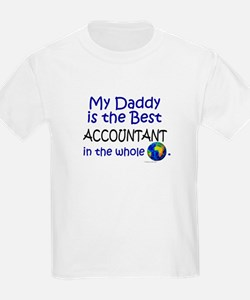 Best Accountant In The World (Daddy) T-Shirt