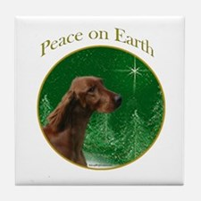 Irish Setter Peace Tile Coaster