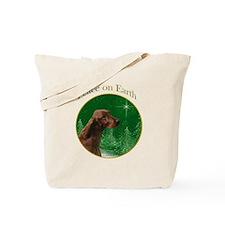Irish Setter Peace Tote Bag