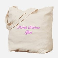 North Dakota Girl Tote Bag
