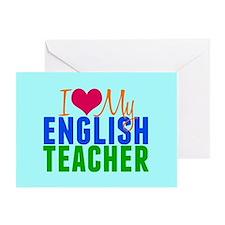 English Teacher Greeting Card