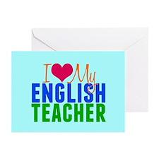 English Teacher Greeting Cards (Pk of 20)