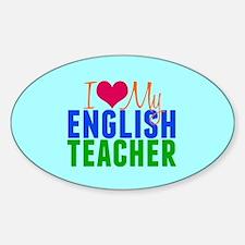English Teacher Decal