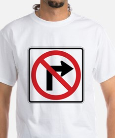 No Right Turn Shirt