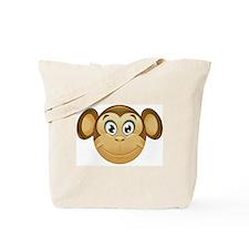 monkey emoji Tote Bag