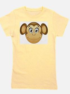 monkey emoji Girl's Tee