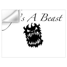 Life's A Beast Wall Decal