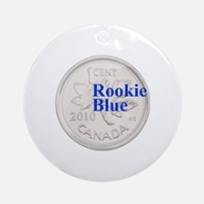 Rookie Blue Copper Round Ornament