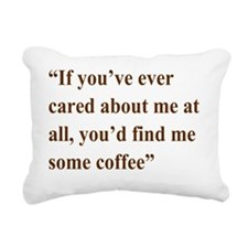 A Gail Quote Rectangular Canvas Pillow