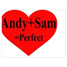 Andy & Sam Canvas Art