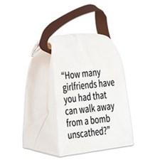 An Andy Quote Canvas Lunch Bag