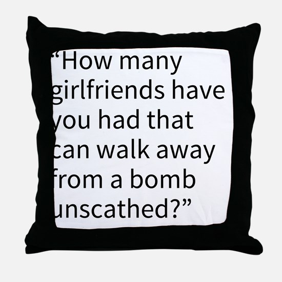 An Andy Quote Throw Pillow
