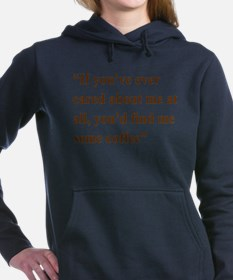 A Gail Quote Women's Hooded Sweatshirt