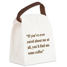 A Gail Quote Canvas Lunch Bag