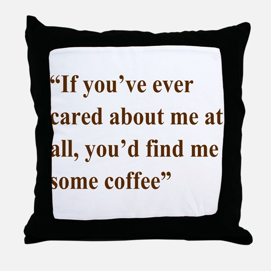 A Gail Quote Throw Pillow
