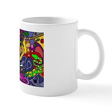 Funny Jungle Abstract Art Mug