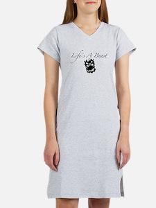 Life's A Beast Women's Nightshirt