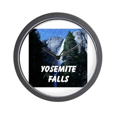 AFTM Yosemite Falls Wall Clock