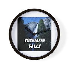 AFTM Yosemite Falls Wall Clock