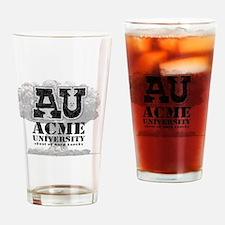 AU Skool of hard knocks Drinking Glass