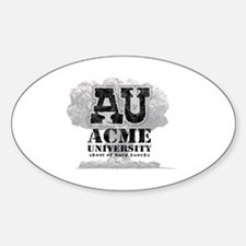 AU Skool of hard knocks Sticker (Oval)