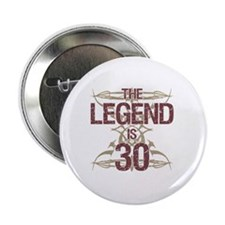 "Men's Funny 30th Birthday 2.25"" Button"