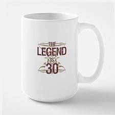 Men's Funny 30th Birthday Mugs