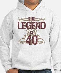 Men's Funny 40th Birthday Hoodie
